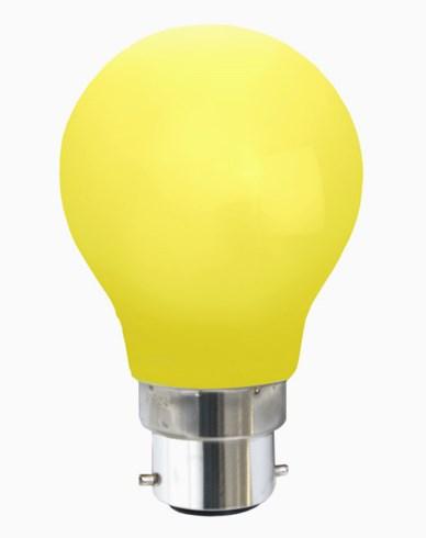 Star Trading LED-lampa Gul B22d 0,9W 356-40-5