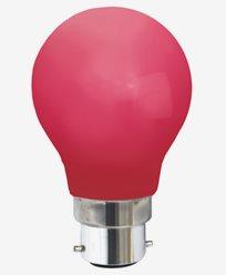 Star Trading LED-lampa Röd B22d 0,9W 356-45-5