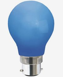 Star Trading LED-lampa BLÅ B22d 0,7W