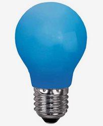 Star Trading BLÅ E27 0,9W LED-lampa 356-49-4