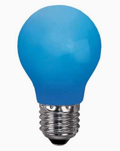 Star Trading BLÅ E27 0,9W LED-lampa
