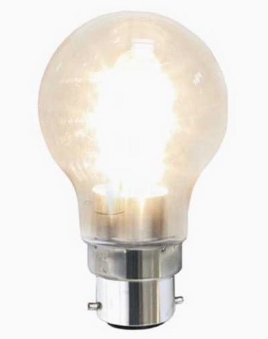 Star Trading LED Decoration Normal LED-pære  1,6W (15W) Klare, B22 2100K bajonet