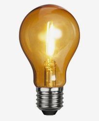 Star Trading Decoration LED party E27 1W Orange