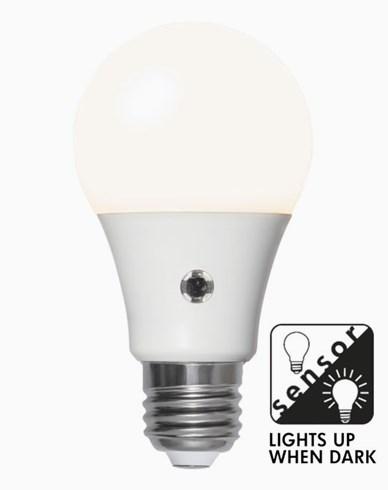 Star Trading LED Opal skymningssensor E27 8,5W/827 (60W)
