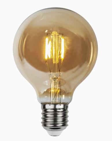 Star Trading LED-pære Globus 24V AC/DC Amber 0,23W (_10W)