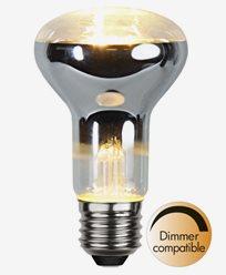 Star Trading Illumination LED Klar R63 E27 2700K 4W (28W)