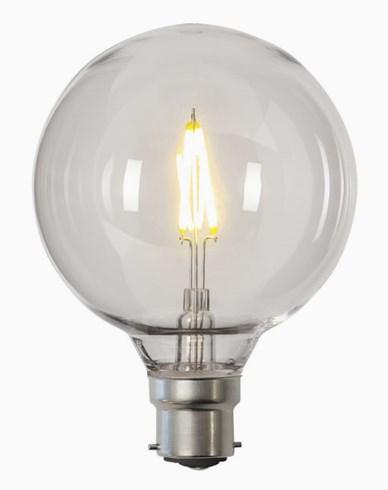Star Trading LED-pære PC-plast G95 B22 2700K 0,6W (11W)