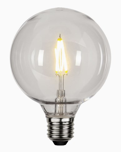 Star Trading LED-lampa PC-plast G95 E27 2700K 0,6W (10W)