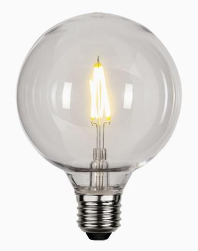 Star Trading LED-pære PC-plast G95 E27 2700K 0,6W (10W)