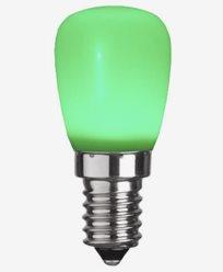 Star Trading Decoration LED Party Päronlampa Grön 0,8W E14
