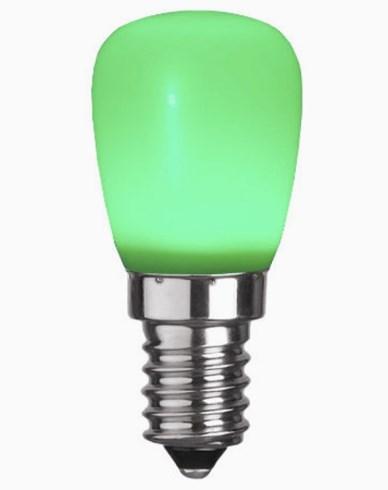 Star Trading Decoration LED Party Minipære Grønn 0,8W E14