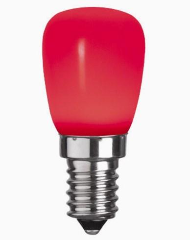 Star Trading Decoration LED Party Päronlampa Röd 0,8W E14
