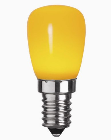 Star Trading Decoration LED Party Päronlampa Gul 0,8W E14