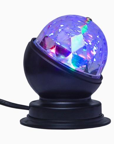 Star Trading Bordslampa Disco LED-ljus