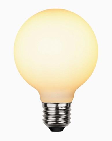Star Trading LED-lampa glob Ø80 Frostad E27 5W (35W)