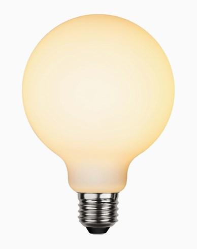Star Trading LED-lampa glob Ø95 Frostad E27 5W (35W)