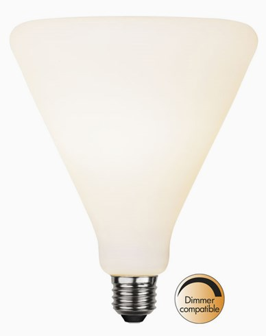 Star Trading Double Coating Opaque LED-pære T145. E27 5,6W/2600K