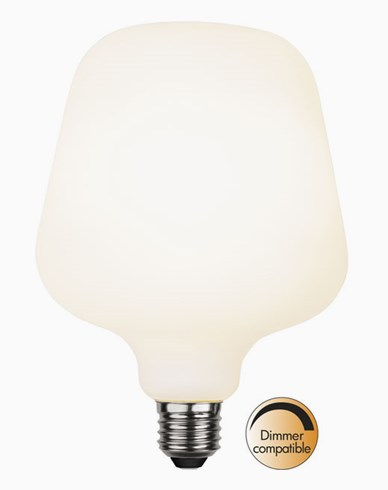 Star Trading Double Coating Opaque LED-pære ST125. E27 5,6W/2600K