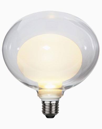 Star Trading LED-lampe Space E27 3,6W/2700K. 3-trinns klikkdimmer. 366-34
