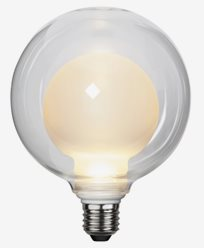 Star Trading LED-lampe Space E27 3,6W/2700K. 3-trinns klikkdimmer. 366-35