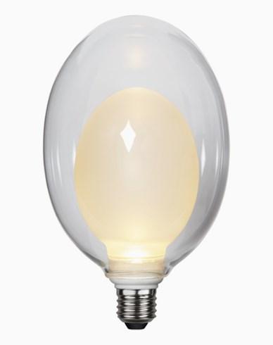 Star Trading LED-lampe Space E27 3,6W/2700K. 3-trinns klikkdimmer. 366-36