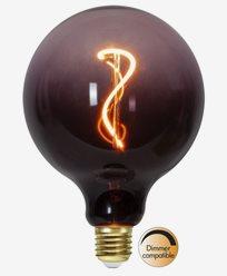 Star Trading Decoration LED-pære E27 G125 COLOURMIX. Purple