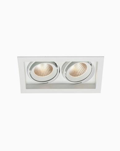 MAXEL SOHO 2 LED 9WX2 830 20° hvit