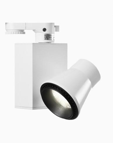 MAXEL CROSBY 3-fas 3600lm 40° vit. Justerbar 180°. 32W / 230V LED