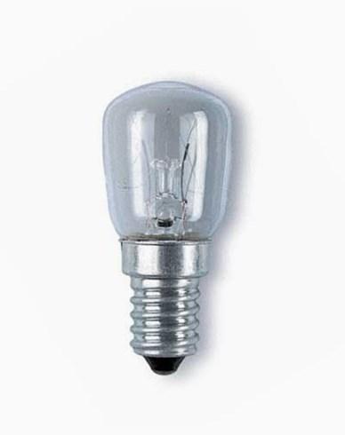 Päron-/kylskåpslampa, 15 Watt