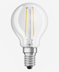 Osram LED filament Krone pære E14 1,5W/827 (15W)