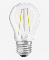 Osram LED filament Krone pære E27 1,5W/827 (15W)
