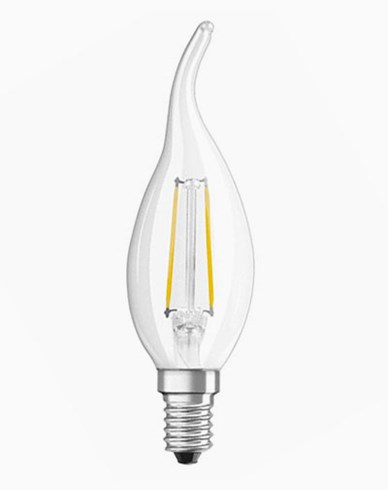 Osram LED Retrofit Kron med topp E14 2,5W