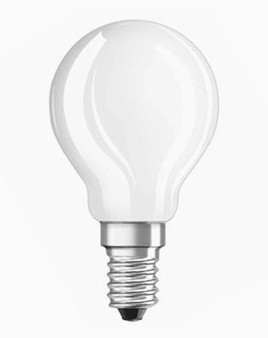 Osram LED klotlampa E14 matt glass 3W/827 (25W)
