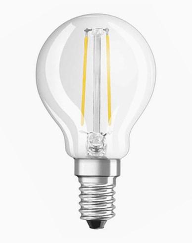 Osram LED Retrofit Klot E14 2W