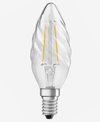 Osram LED Mignon filament vredet glass RETROFIT CLASSIC BW E14 2,5W/827 (23W)