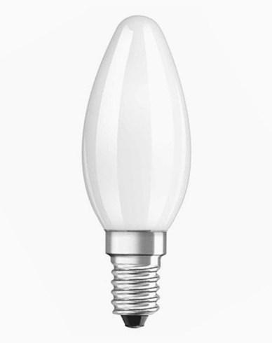 Osram LED kronljus E14 FR 4W/827