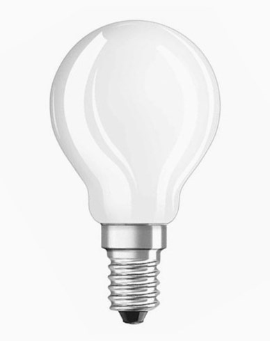 OSRAM LEDlampa klotformad 4W/827 (40W)