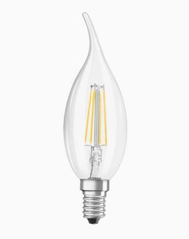 Osram LED kronljus böjd topp E14 4W/827 (40W)