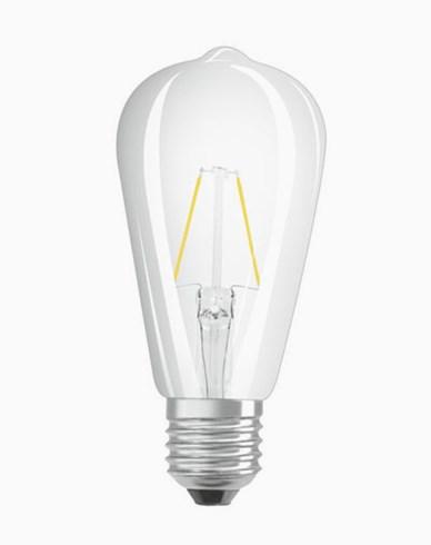 Osram LED RETROFIT Filament Classic Edison E27 2W/827 (25W)