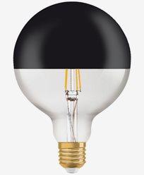 Osram LED VINTAGE 1906 Globe Mirror black 7W/827 (52W) E27