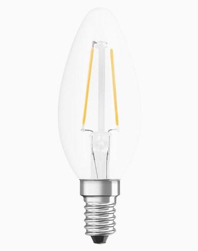 Osram LED kronljus filament RETROFIT Cl B E14 3,3W/827 Dim