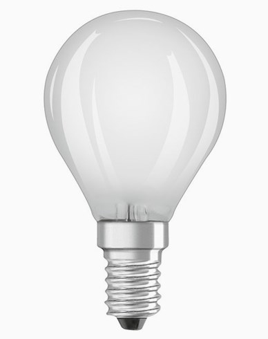Osram LED kronepære CL P E14 Dim 1,4W/827 (15W) Frosted