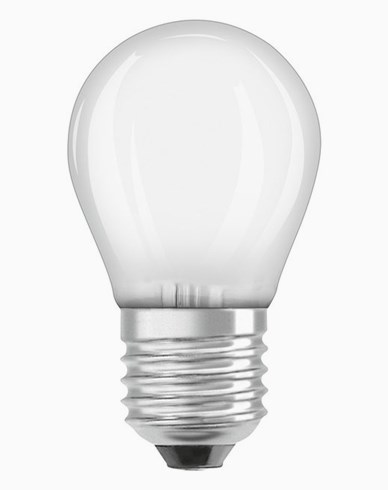 Osram LED-lampa CL P klot E27 Dim 1,4W/827 (15W) Frosted