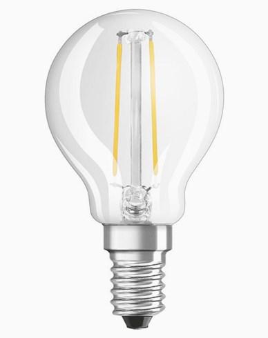 Osram LED-lampa CL P klot E14 Dim 3,3W/827 (25W). Dimbar