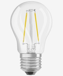 Osram LED kronepære CL P E27 Dim 3,3W/827 (25W) Frosted. Dimbar