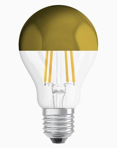 Osram LED-lampa CL A 54 Toppförspeglad Gold E27 7W (54W)
