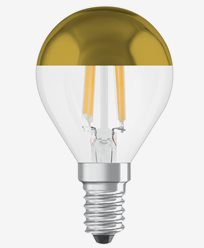 Osram LED-lampa CL P 37 Toppförspeglad Gold E14 4W (37W)