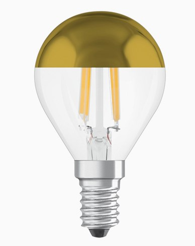 Osram LED-pære CL P 37 Toppforspeilet Gold E14 4W (37W)