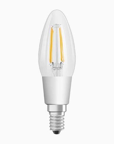 Osram LED-lampa Classic B Kronljus E14 GLOWdim 4,5W (40W)