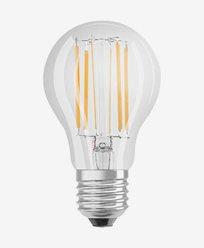 Osram LED-pære CL A E27 Dim 8,5W/827 (75W)